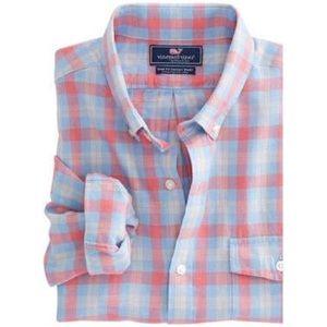 Vineyard Vines Hullman Point Plaid Crosby shirt